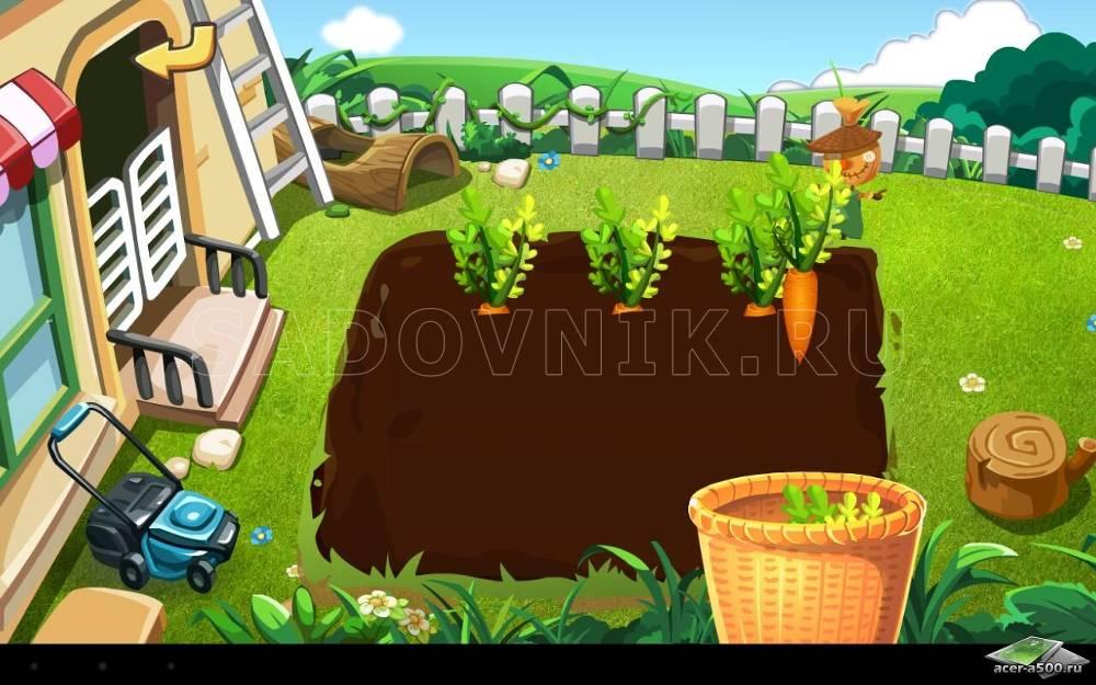 Игры про огороды и сады